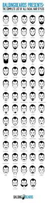 Hair Type Chart Men 68 Best Facial Hair Styles For Men You Should Try At Least