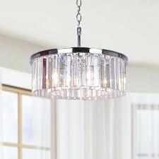 crystal drum chandelier west village 5 light crystal drum chandelier crystal drum pendant lighting