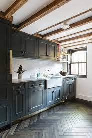 Herringbone Kitchen Floor Home Tour Small Rooms Big Design In Brooklyn Coco Kelley