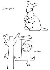 Kangaroo Dick Bruna Nijntje Pinterest Aap Kleurplaten En