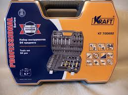 Обзор от покупателя на <b>Набор инструментов</b> Kraft КТ 700682, 94 ...