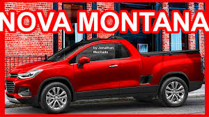 lan amento chevrolet 2018. photoshop nova chevrolet montana 2018 tracker pickupmini s10futura concorrente da oroch youtube lan amento