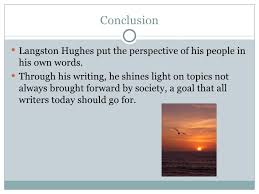 research paper langston hughes  10