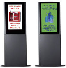 Display Boards Free Standing Free Standing Electronic Reception Signage by Lobby Sign 61