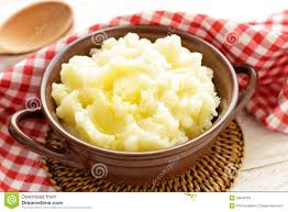 mashed potato clipart. Plain Potato With Mashed Potato Clipart