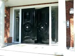 exterior steel entry doors with glass exterior steel double doors steel entry doors with full glass doors double front entry doors exterior steel double