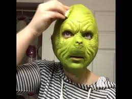 the grinch that stole makeup tutorial