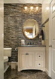 powder room bathroom lighting ideas. Small Room Powder Traditional With Brown Tile Wall Matchstick Bathroom Light Fixtures Lighting Ideas Home Remodeling Czmcam.org