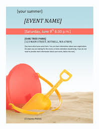 Upcoming Events Flyer General One Page Upcoming Company Event Flyer Template