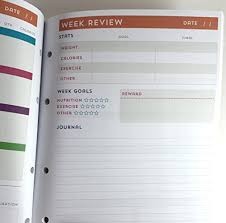 Fitness And Nutrition Journal Recollections Fitness And Nutrition Planner Fitness Planner Health Planner Diet Planner 2017 Planner