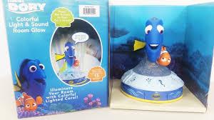 Finding Nemo Night Light Finding Dory Talking Glow Room Bedroom Night Light Nemo Unboxing