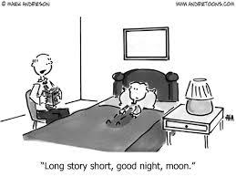 book cartoon 1015 long story short goodnight moon