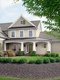Exterior Paint Colors That In Exterior Traditional With Beige Window Trim Arch Entryway