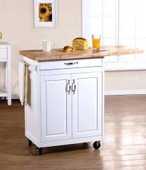 kitchen lovable white portable kitchen island drop leaf cart black with