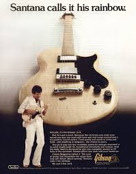 gibson l6 s electric guitar gibson l6 s custom santana calls it his rainbow