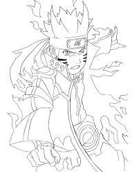 naruto vs sasuke coloring pages shippuden