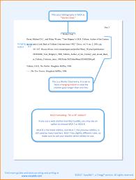 Mla Writing Format 8 9 Mla Writing Format Template Resume