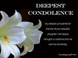 My Condolences Quotes