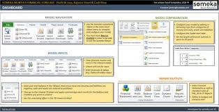 Financial Forecasting And Planning Model Excel Tools Excel Template