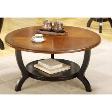 stunning two tone coffee table pux f3173 two tone round coffee and end tables 73 800x800