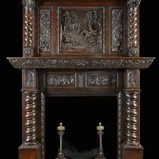 vintage fireplace mantels elegant gothic antique fireplace mantels with mirrors