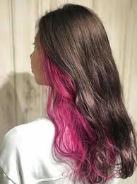 Pin by Ida Schneider on Colored Hair in 2020   Hair color streaks, Hair  color underneath, Dyed blonde hair