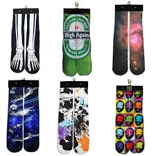 2018 NEW High Quality <b>3d Printed</b> Galaxy/Beer/<b>Paint Sock</b> ...