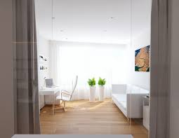 white home office. Home Office White. White Interior Design Ideas