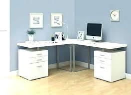 corner desk l shape big shaped u computer white with shelves com