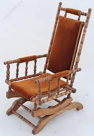 19c victorian american walnut beech rocking chair antiques atlas old fashioned rocking chairs uk