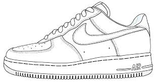 Free Printable Jordan Shoes Coloring Pages Coloring Coloring Pages