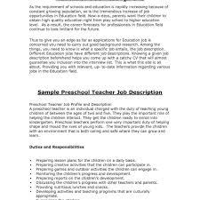 Childcare Resume Childcare Resume Resume Child Care Provider Job Description Sample 43