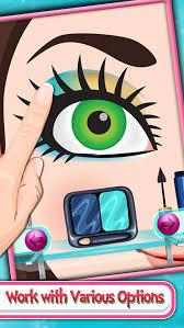 princess eye makeup salon top free game for kids s screenshot on ios