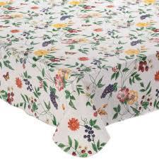 vinyl tablecloths table linens
