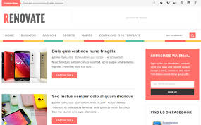 Blogger Mobile Template Best Mobile Friendly Blogger Templates The Daily Programmer