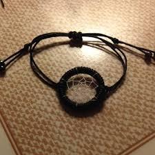 Dream Catcher Bracelet Tutorial How to make a Dream Catcher Friendship Bracelet Tutorial 1