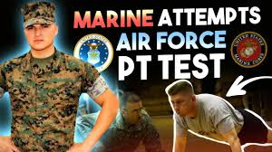 Af Walk Test Chart Marine Attempts Air Force Pt Test