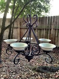 full image for cozy chandelier bird feeder 92 grand chandelier hummingbird feeder after the wire were