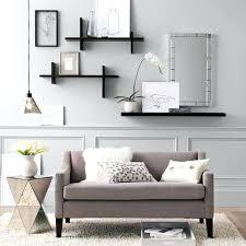 black floating wall shelf floating wall shelves with drawers rectangle brown varnished wooden decorative floating shelf