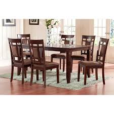 cherry counter height piece: quick view world menagerie ighli  piece dining set