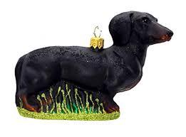 Gartenschätze Christbaumschmuckweihnachtskugelhunddackeldachshund 1462bk