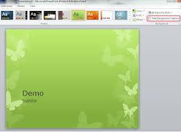 microsoft powerpoint 2010 templates replacing background graphics of a powerpoint theme super user