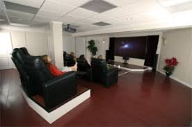 basement home theater. Beautiful Home Basement Home Theater Seating Throughout