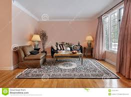 Wood Flooring For Living Room Living Room With Wood Floors Royalty Free Stock Photography