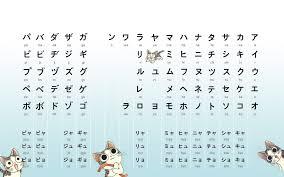 Japanese Hiragana Chart Wallpapers Top Free Japanese