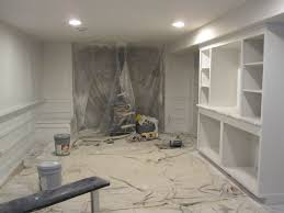 Theater Room - Unfinished basement man cave ideas