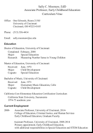 Cv Template Education Cv Templates For Educational Jobs With A Quick Guide To