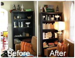 How To Decorate A Bookcase On The Cheap Decorating A Bookcase