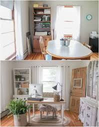 home office makeover. A Must-see Makeover! Check Out The Transformation Of This Gorgeous Home Office Decorated Makeover