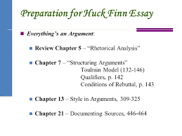 adventures of huckleberry finn ppt  preparation for huck finn essay